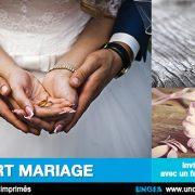 Faire-part mariage, Ile de La Réunion