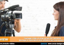 Interview vidéo- Publicité Réunion - Uncia Design