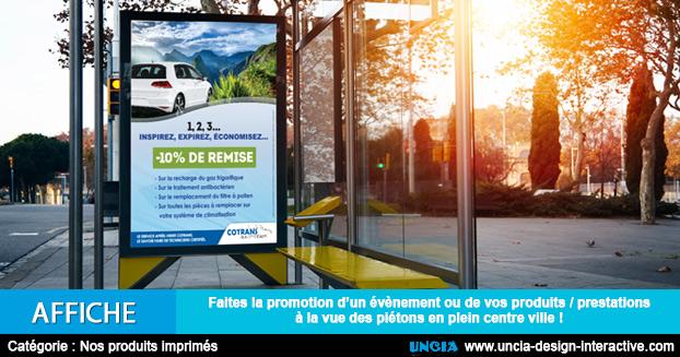 Affiche - Publicité Ile de la Réunion