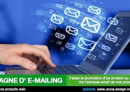E-mailing - Uncia Design - Publicité Réunion