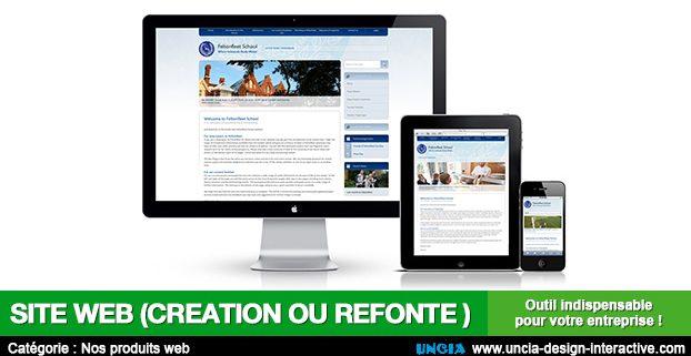 Site web - Uncia Design - Publicité Réunion