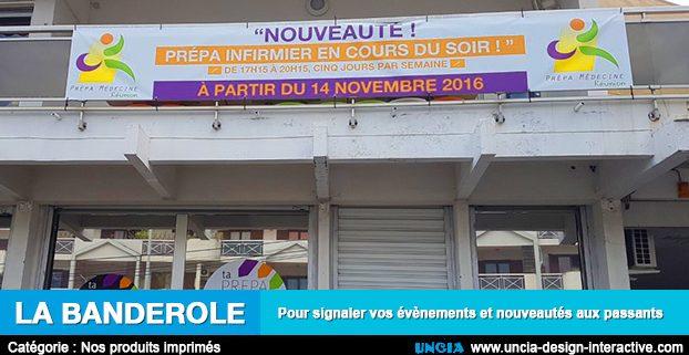 Banderole - Communication Ile de La Réunion