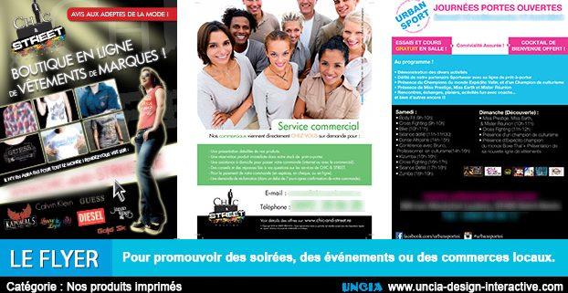 flyers 974 - Communication Ile de La Réunion
