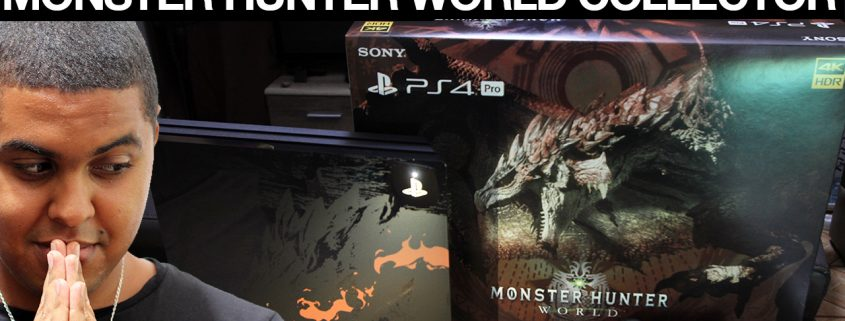 PS4 Pro Monster Hunter World Collector