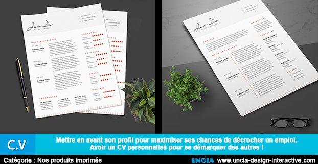 CV - curriculum vitae - Ile De La Réunion